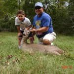 Gabe's first deer
